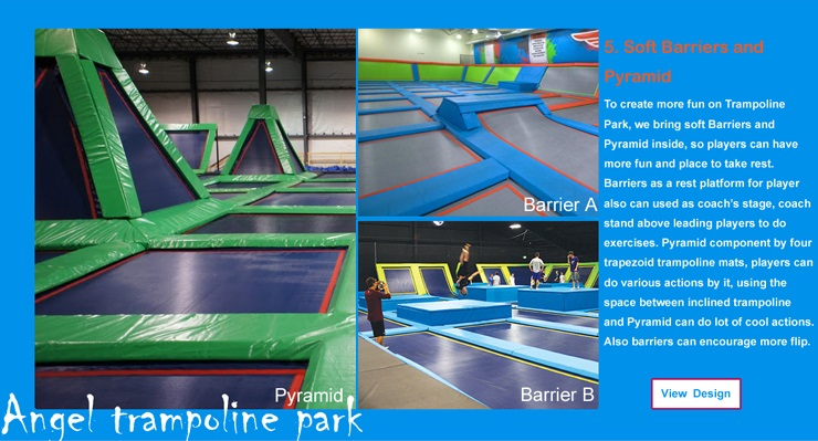 trampolines with enclosure