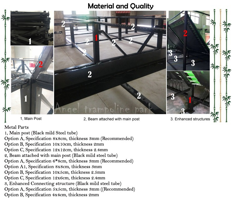 jumpking trampoline parts