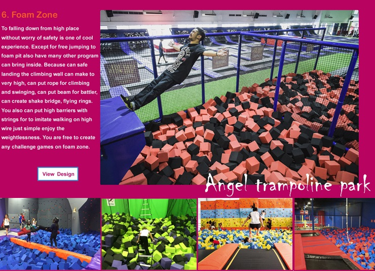 indoor trampoline park virginia
