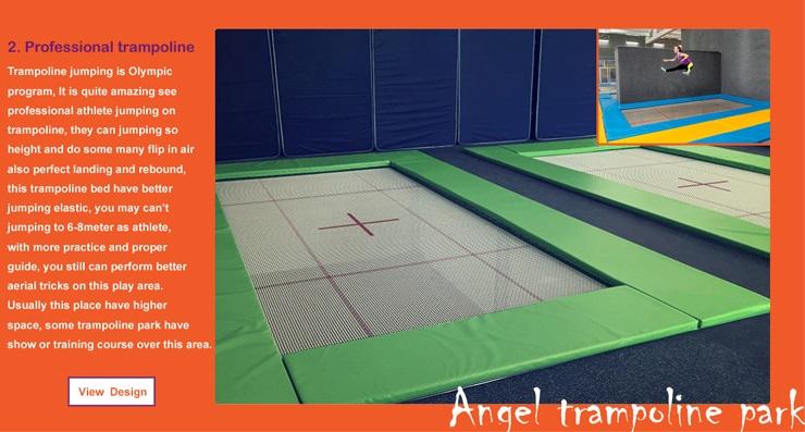 trampoline indoor kids