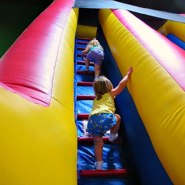 inflatable bouncer-fun things to do